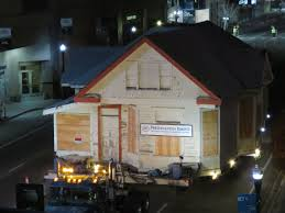Idaho House by Boise Landmark U0027the Wood House U0027 Rolls Through The Night To New