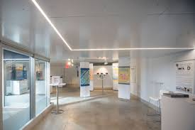 Ceiling Art Architecture Students Revamp Retail Space Into Art Gallery With