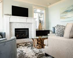 Fireplace Tile Design Ideas by Beautiful Glass Mosaic Fireplace Surround Looks Perfect For Your