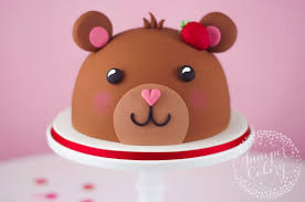 utterly adorable teddy bear cake tutorial