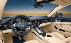 porsche panamera inside 2010 porsche panamera pricing and interior images released car