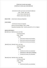 Resume Outline Examples by College Resume Template Microsoft Word Best Resume Collection