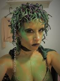 medusa hair costume homemade medusa costume 150 shades of snakes medusa costume