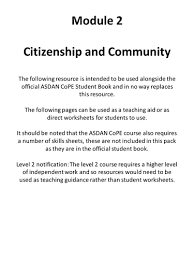 and relationships asdan short course module 1 body knowledge