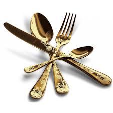 the luxury art mepra venere cutlery sets home bazar