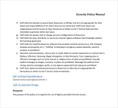 it security policy template cyber security policy template
