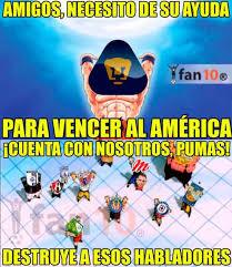 Memes De Pumas Vs America - pumas derrota al am礬rica en la semifinal del apertura 2015 aqu祗