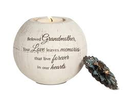 sympathy gift for grandmother memorial candle