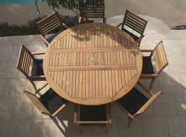 round wood patio table decor refinishing chic smith and hawken teak patio furniture decor