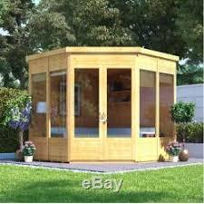 Garden Summer Houses Corner - house 7x7 u0027 corner garden sheds play storage outdoor lodge office