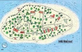fiji resort map navivi map picture of navini island resort navini island