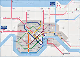 Map New Orleans French Quarter by 8th Grader Draws Up What A Subway System Would Potentially Look