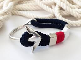 fashion anchor bracelet images Rope and anchor bracelet style south shore living jpg