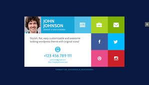 Free Resume Html Template Resume Html Template Premium Layers Html Vcard U0026 Resume Template