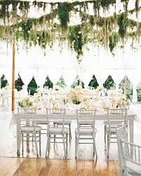 halloween wedding ideas martha stewart hanging garlands martha stewart weddings inside the reception