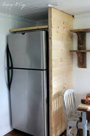 built in refrigerator cabinet how to build a refrigerator cabinet kitchen cabinets refrigerator