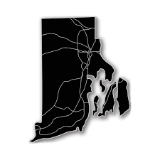 Rhode Island On Map Rhode Island Acrylic Cutout State Map Modern Crowd Touch Of