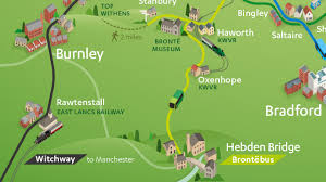 Bus Map Submission U2013 Yorkshire Tourist Bus Map By Best Transit Maps