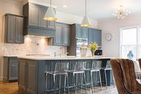 blue grey kitchen cabinets gray blue kitchen cabinets transitional kitchen