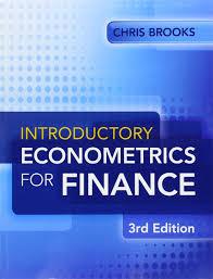 introductory econometrics for finance amazon de chris brooks