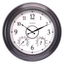 indoor outdoor outdoor clocks outdoor decor the home depot
