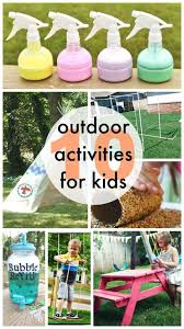 Backyard Activities For Kids 10 Outdoor Activities For Kids Classy Clutter