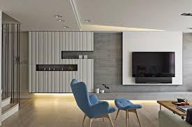 living room modern living room minimalist style nice blue fabrick