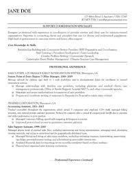 Resume Examples For Medical Office by Profit Support Coordination Specialist Resume