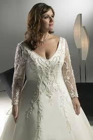 plus size wedding gowns for mature brides curvyoutfits com