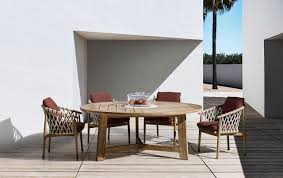 outdoor table ginestra by b u0026b italia