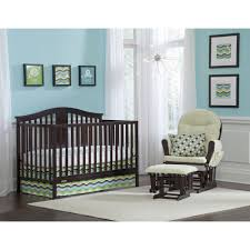 Gray Convertible Cribs by Graco Solano 4 In 1 Convertible Crib And Mattress Espresso