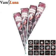 aliexpress com buy 4pcs henna tattoo ink brown color 15