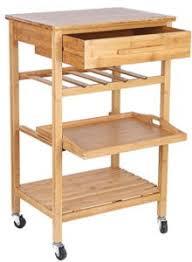 bamboo kitchen island rolling bamboo kitchen island storage bakers cart wine rack w