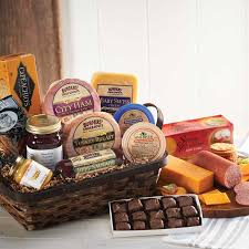 food gift baskets gourmet food gift basket hickory smoked city ham