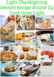 healthy thanksgiving sides desserts recipes food done light
