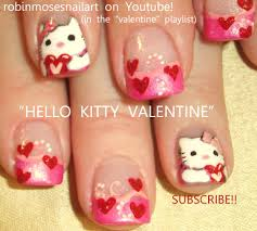 nail art design valentines day nails leopard print with pink