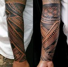 collection of 25 lower arm tribal tattoos