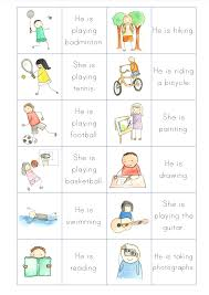 what do you like to do primary efl resources
