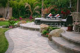Pavers Patio Design San Diego Pavers Raised And Sunken Patio Gallery By Western Pavers