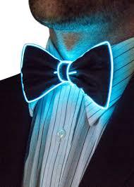 light up bow tie neon nightlife