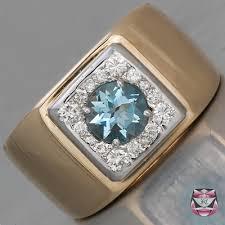 men vintage rings images Jewelry mens rings vintage mens aquamarine ring jpg