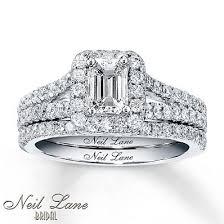 neil emerald cut engagement rings best 25 neil wedding rings ideas on neil
