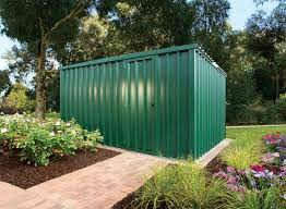flat roof shed stratco