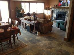 Tile Living Room Floors by Tile Floor Gallery Custom Installations Inc