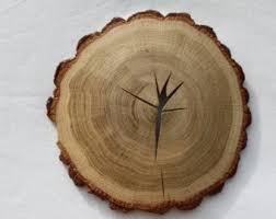 tree wood wall wood slice etsy