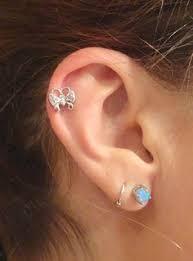 seahorse cartliage earring tragus helix piercing tragus