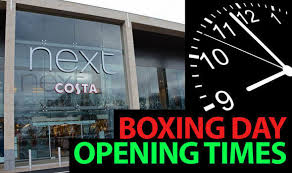 what stores are open on boxing day guide to boxing day opening