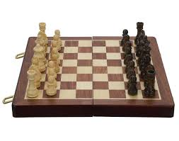 buy top quality collectible wooden folding chess game board set