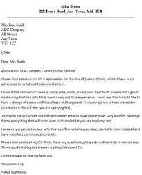 persuasive career change cover letter persuasive career change
