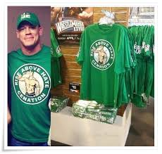 john cena fan club john cena fan club john cena new ring gear salute the cenation